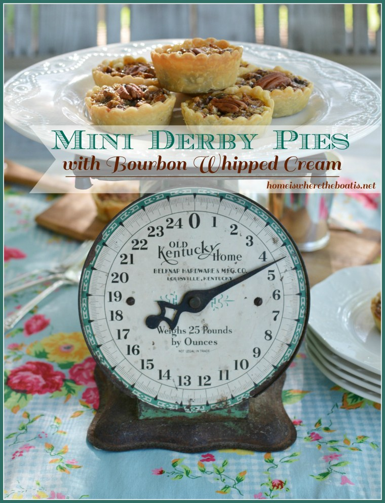 mini derby pies blue border