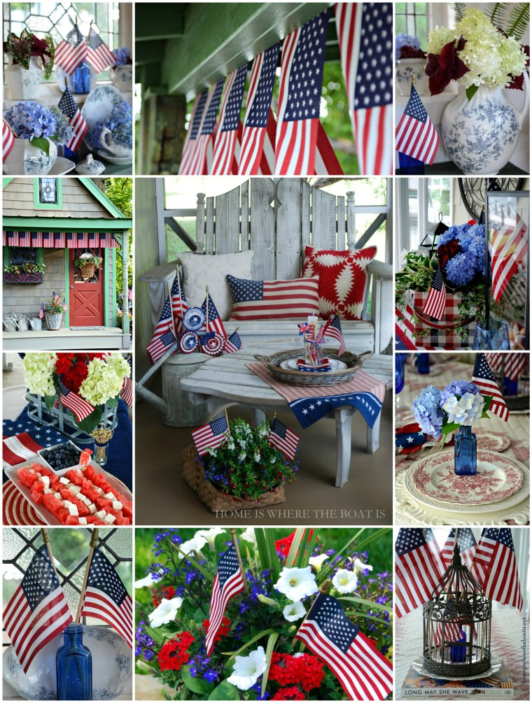 Flag Day collage