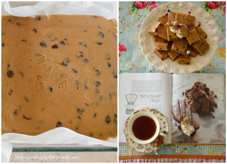 Rum and Raisin Fudge-001