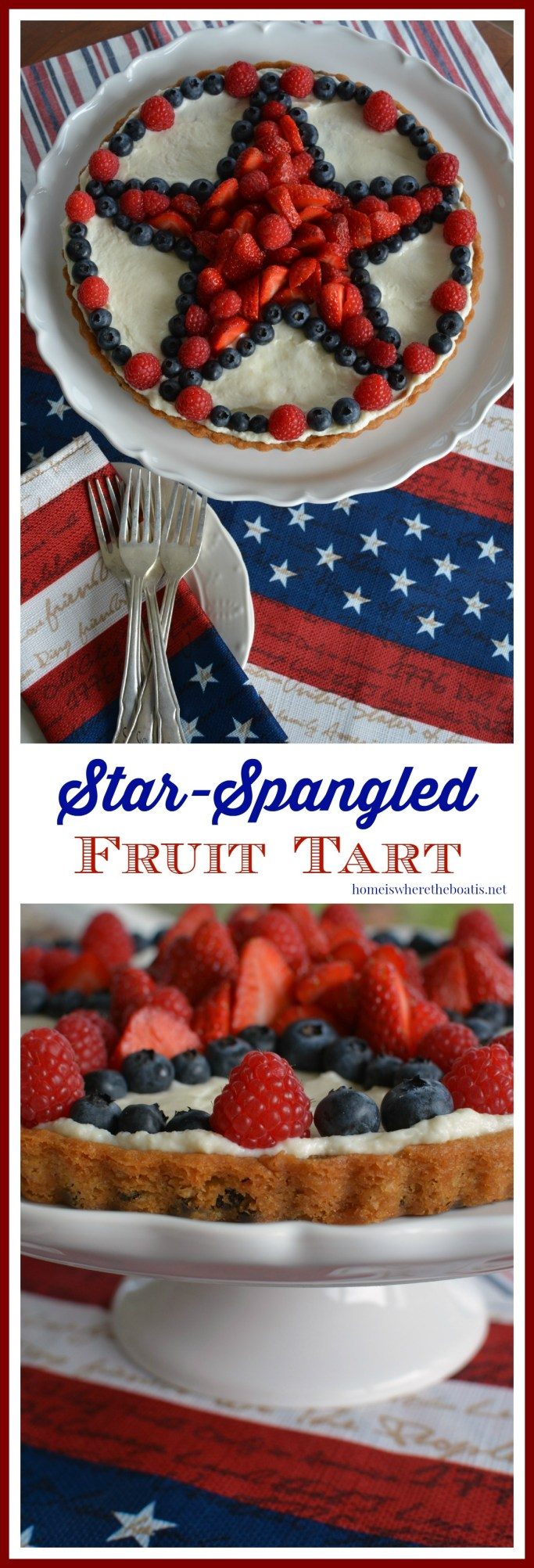 Star-Spangled Fruit Tart