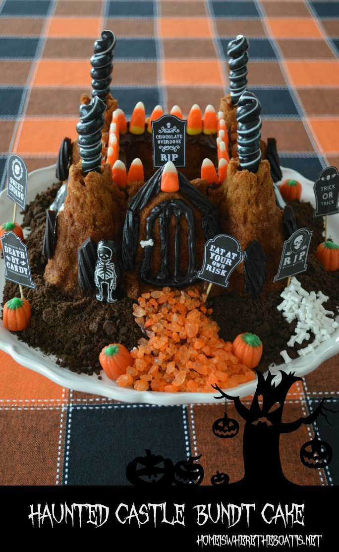 Haunted Castle Bundt Cake