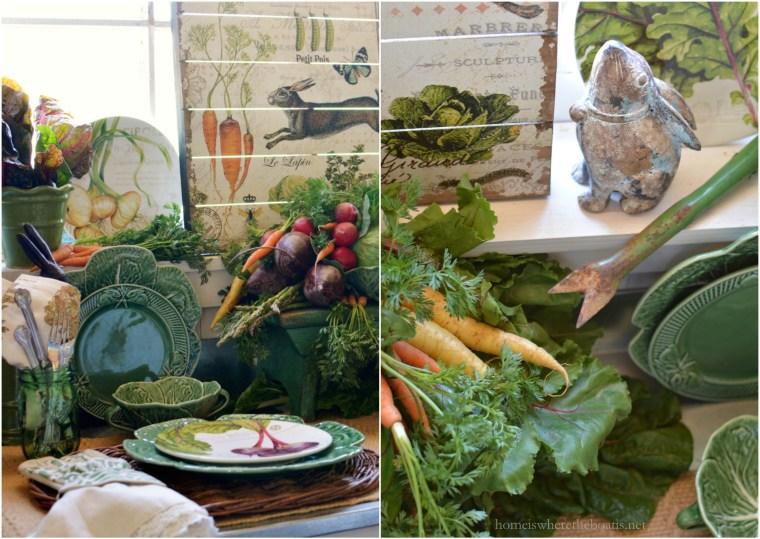 In the Potting Shed: Jardin de Legumes