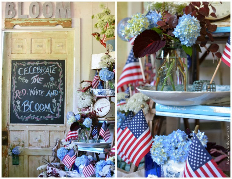 Celebrate the Red, White and Bloom