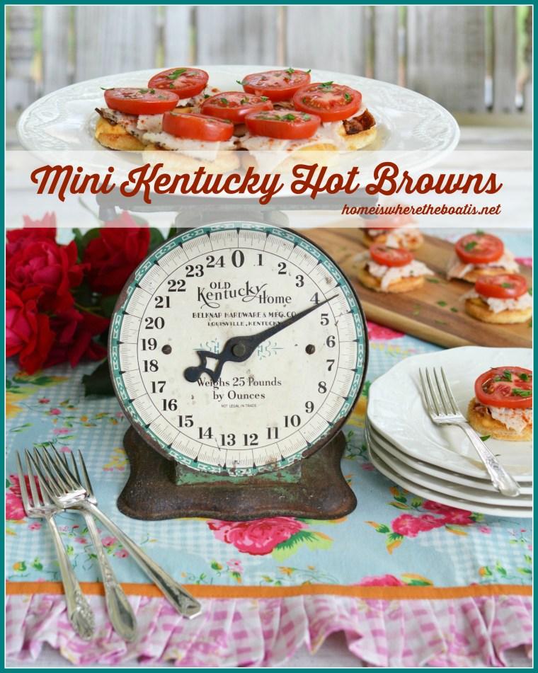 Mini Kentucky Hot Browns
