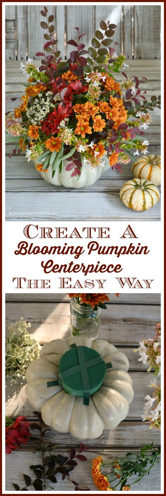 Create a Blooming Pumpkin