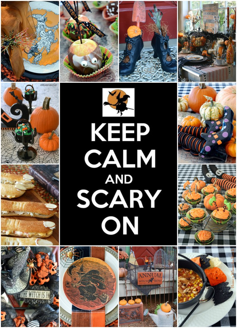 Keep Calm and Scary On Halloween Tricks & Treats! | homeiswheretheboatis.net #halloween #recipes