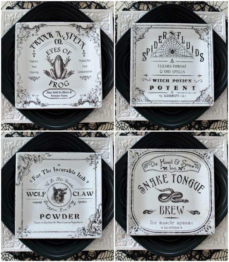 apothecary-plates