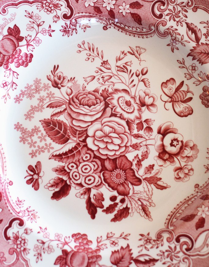 Spode Archive Collection 'Blue Rose' | ©homeiswheretheboatis.net #valentinesday #flowers
