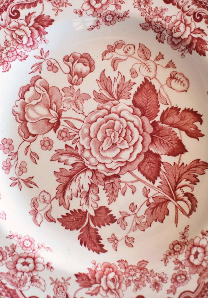 Spode Archive Collection 'British Flowers – Rosa' | ©homeiswheretheboatis.net #valentinesday #flowers