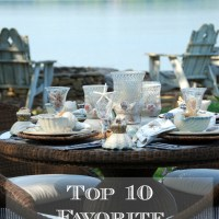 So Hard to Choose: Top 10 Favorite Tablescapes!