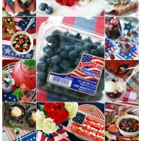 15+ Patriotic Recipes to Celebrate the Red, White and Blueberry!