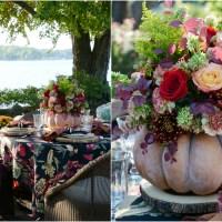 Autumn Table + DIY Blooming Pumpkin the EASY Way