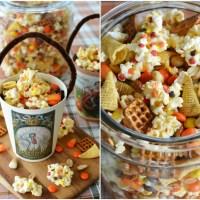An Easy No-Bake Treat: Cornucopia Popcorn Snack Mix