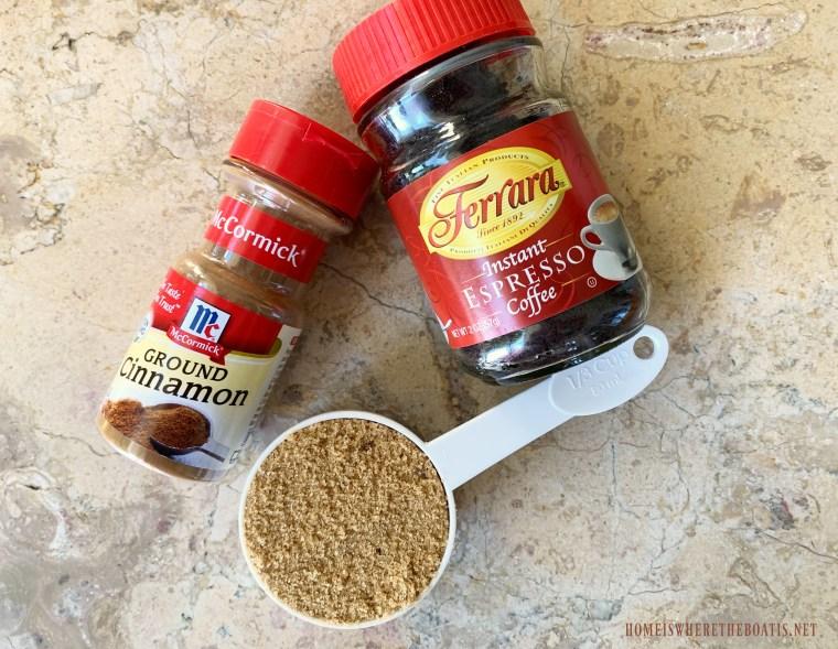 Cinnamon Espresso Swirl Ingredients #nationalbundtday #cake #pumpkinspice #thanksgiving #dessert #recipes