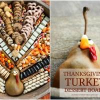 Thanksgiving Turkey Dessert Board