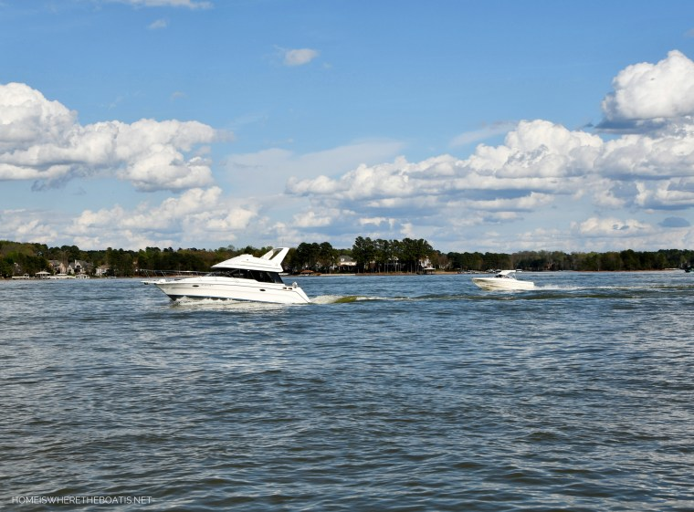 Weekend Waterview March Lake Norman | ©homeiswheretheboatis.net #LKN #boats