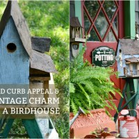 How To Add Curb Appeal & Vintage Charm To A Birdhouse
