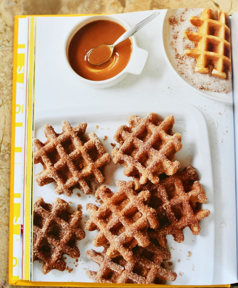 Overnight Churro Waffles, The Duke's Mayonnaise Cookbook + Giveaway