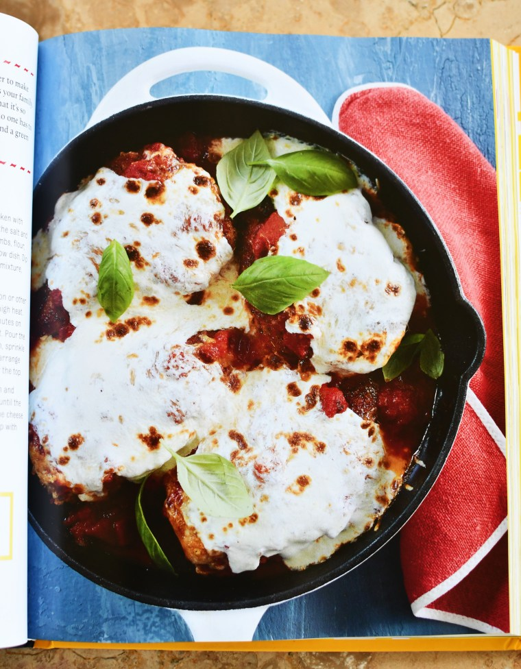 Skillet Chicken Parmesan | The Duke's Mayonnaise Cookbook + Giveaway