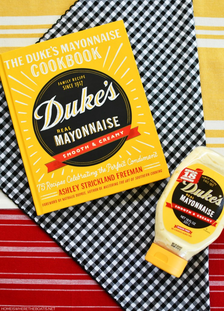 The Duke's Mayonnaise Cookbook + Giveaway