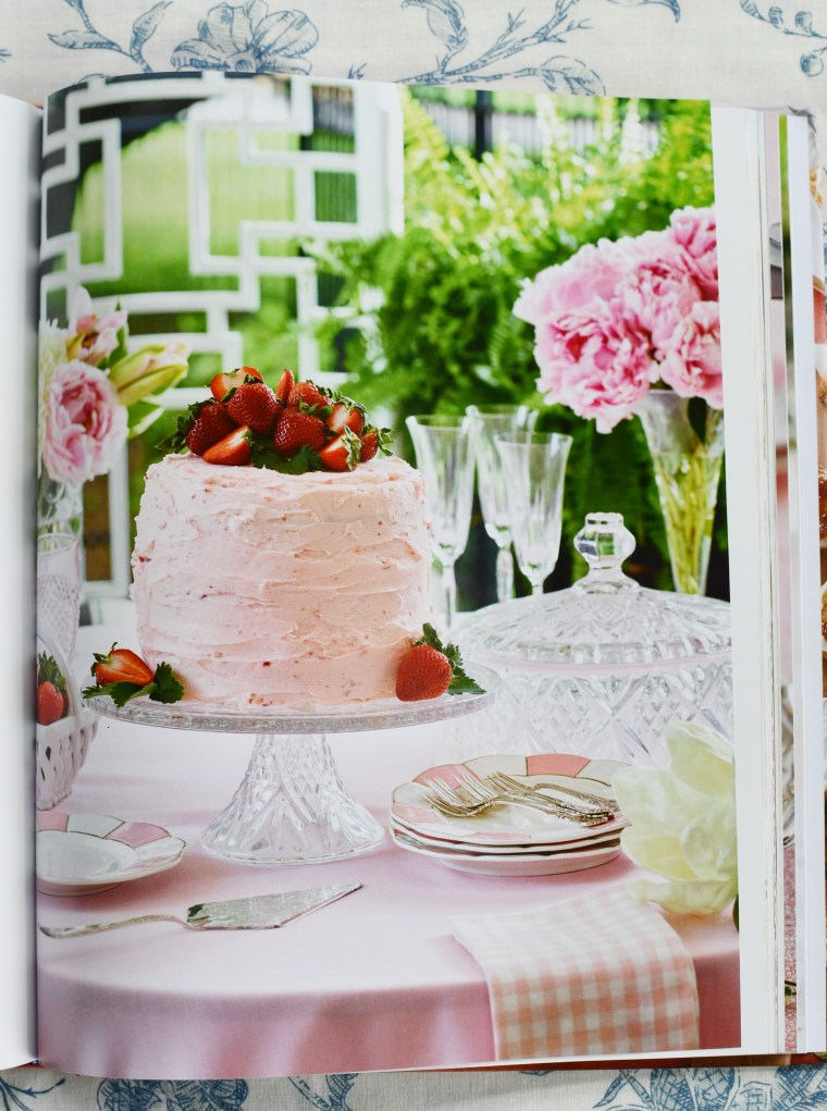 Strawberry Cake from The Southern Entertainer's Cookbook