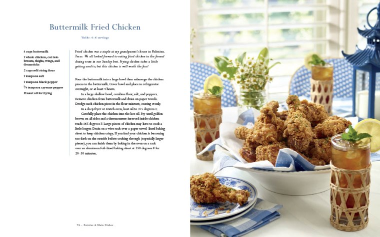 Buttermilk Fried Chicken The Southern Entertainer's Cookbook by Courtney Dial Whitmore