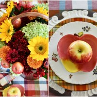 Falling for Apples: Summer to Fall Transitional Tablescape