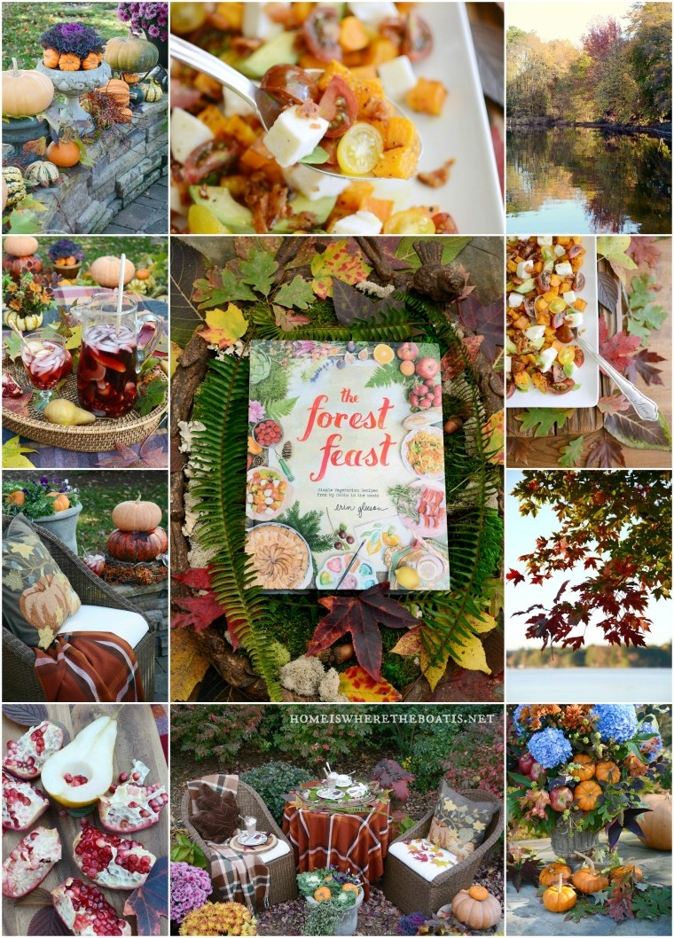 The Forest Feast: Savoring the Flavors and Colors of Fall | ©homeiswheretheboatis.net #recipes #fall