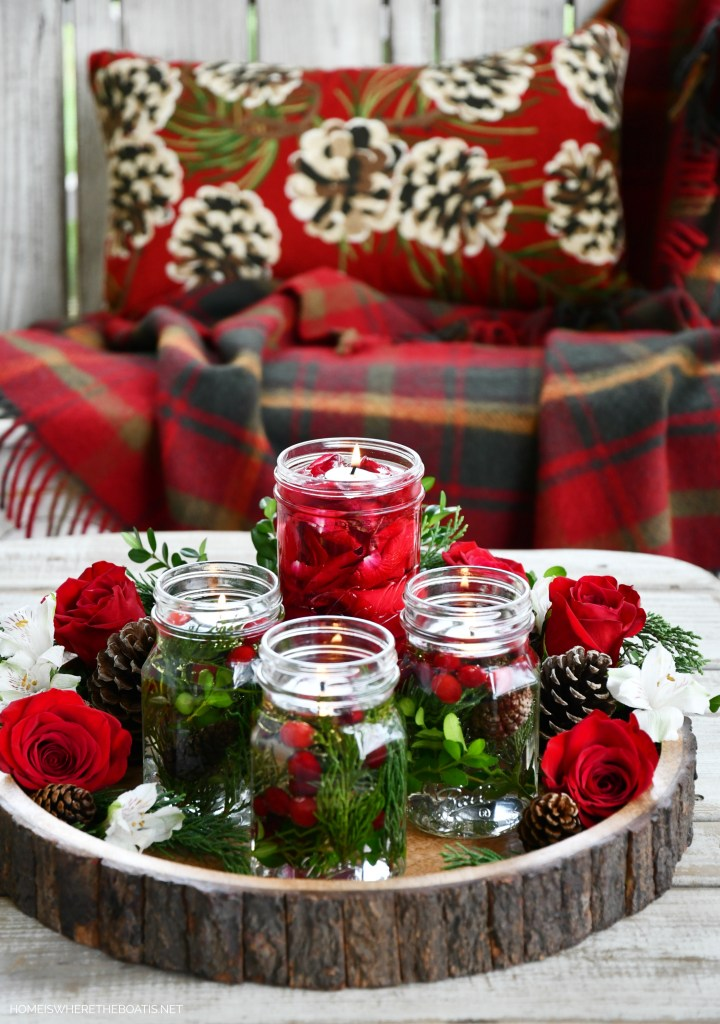 DIY Quick and Easy Mason Jar Candle Lamps | ©homeiswheretheboatis.net #masonjars #craft #diy #christmas