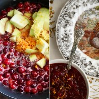 Ina Garten's Make Ahead Cranberry Sauce