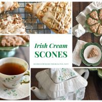 Irish Cream Scones