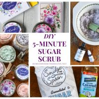 Gift This: How to Make a Fragrant & Colorful 5-Minute Sugar Scrub