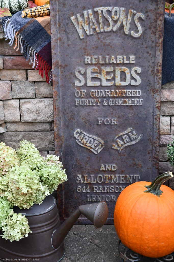 Watson's Reliable Seeds of Guaranteed Purity & Germination for Garden and Farm Allotment | ©homeiswheretheboatis.net