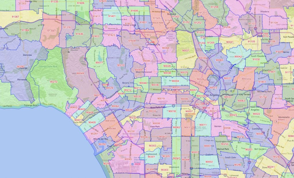 Find homes for sale in Los Angeles by zip code