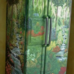 Kitchen Makeover On A Budget Cost Of New Refrigerators Combine Art With Function : Homejelly