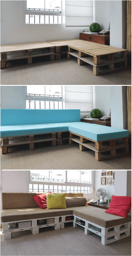 diy sofa from pallets ikea with removable covers project pallet makes for 5 star naps homejelly