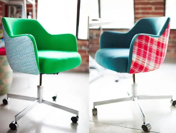 desk chair diy chairs for heavy guys reupholstered rolling office are really cherry homejelly d vintage
