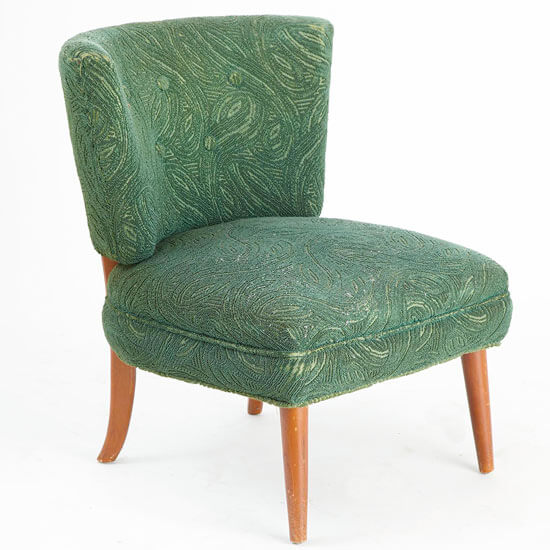 Weekend DIY Project Reupholster A Chair for Oneofa Kind