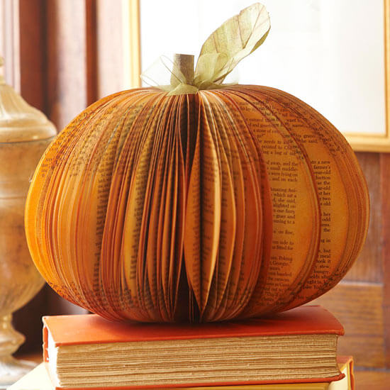 How To Make A Fall Paper Pumpkin Centerpiece  HomeJelly