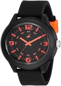 Fastrack Analog Black Dial Unisex Watch