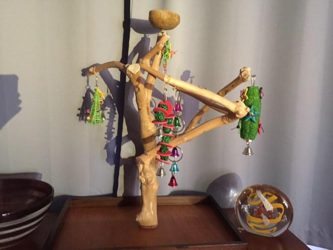 budgie-safe christmas tree