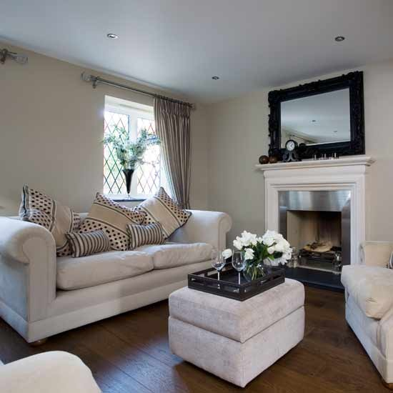 4 white traditional living room ideas 2011 White suede sofas  White traditional living room ideas 2011