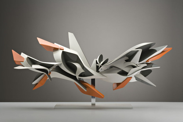 2 unique glossy sculptures Unique Glossy Sculptures