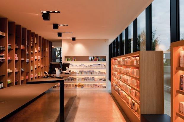 Unusual Pharmacy in Belgium