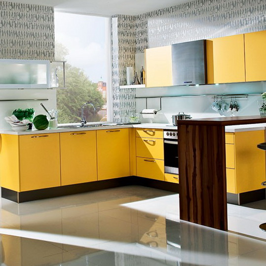 5 colour schemes ideas for kitchen Yellow kitchen Colour Schemes Ideas for Kitchen