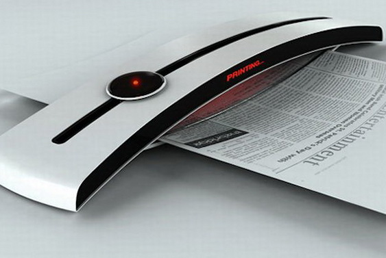 1 eco friendly concept printer Eco friendly Concept Printer