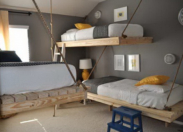 2 space saving bunk beds ideas Space Saving Bunk Beds Ideas