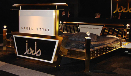 gold bed Innovative Bed Designs