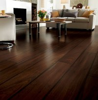 The use a wooden floor in the interior