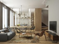 Cozy Minimalism: Stylish Apartment for a Young Family ...